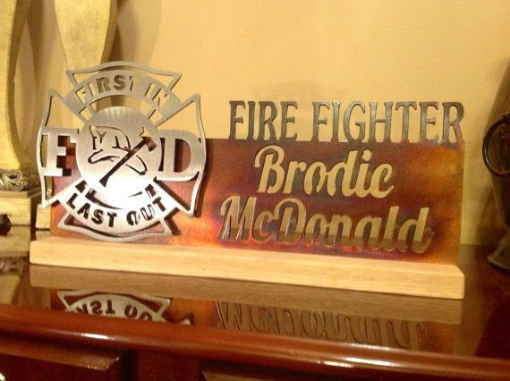 Custom Maltese Cross Great Personal Gift For A Fire Chief
