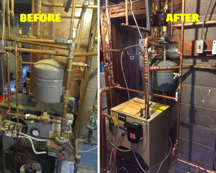 These are the improvements we like to see! Expert technicians Bryan and Tyler upgraded our customer in Wolcott to a Wiel-McLain Oil Fired Boiler. Not only does it look great, but the homeowner (and their puppy!) are happy and guaranteed to be cozy and comfortable!