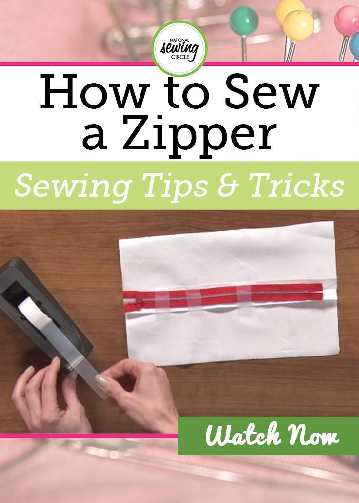 Stephanie Ohnmacht demonstrates helpful tips on how to properly install your center zipper. See how beneficial tape can be when installing a center zipper. Learn a few of her tricks to assist you in creating a strong center zipper.