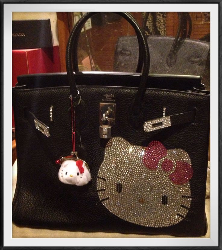 where are brighton handbags made - mybag #hermes #birkin 35 #hellokitty #swarovski, with #hellokitty ...