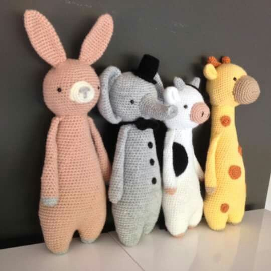 Allemaal patroon van Little Bear Crochets