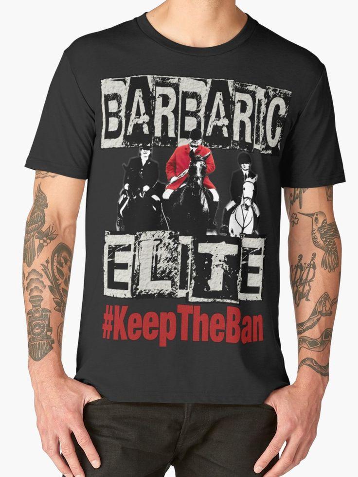 """BARBARIC ELITE"" Men's Premium T-Shirts by Paparaw   Redbubble"