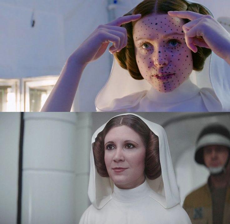Стало известно, как на самом деле выглядела принцесса Лея в фильме «Изгой-один: Звездные войны» ⋆ Последние новости дня