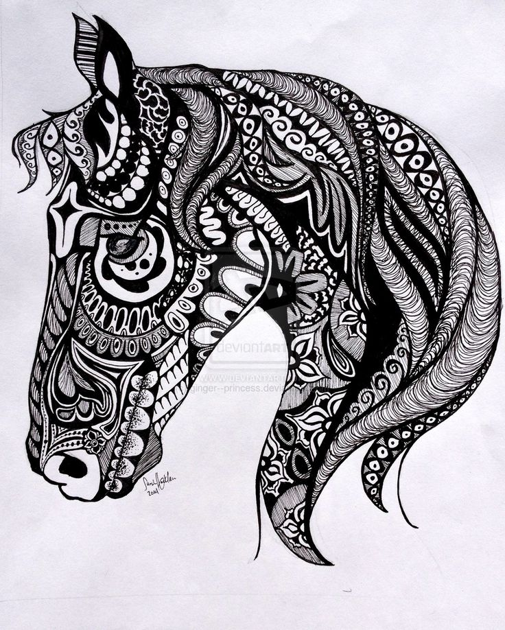 Tangle Horse by ginger--princess on DeviantArt