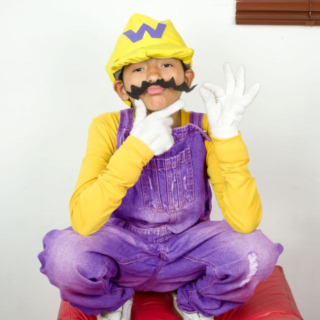 How to Make a Wario Costume