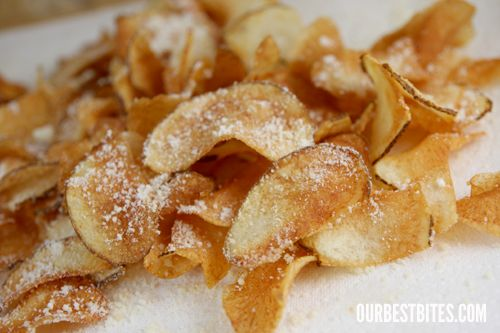 Fried Potato Chips | Recipes to Try | Pinterest | Potato Chips, Chips ...