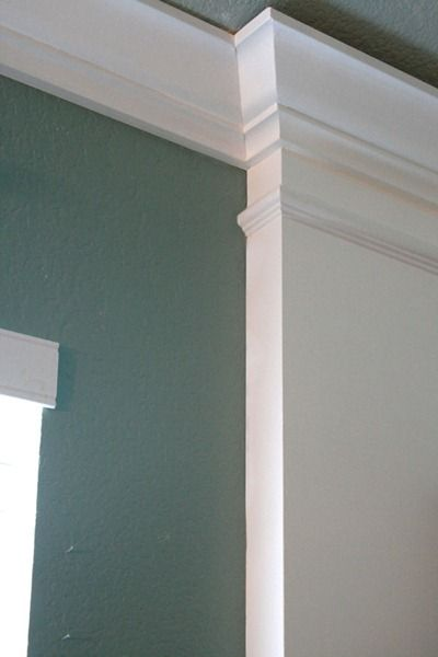 How to caulk moldings spring and fall wood trim and in - Wood filler or caulk for exterior trim ...