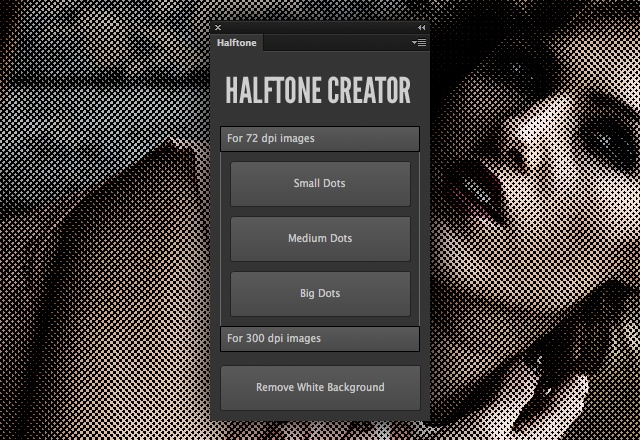 Halftone Creator Photoshop Plugin -Download