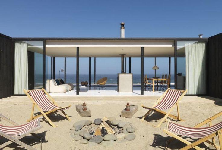 Casa W - Minimal Beach House in Chile by 01ARQ
