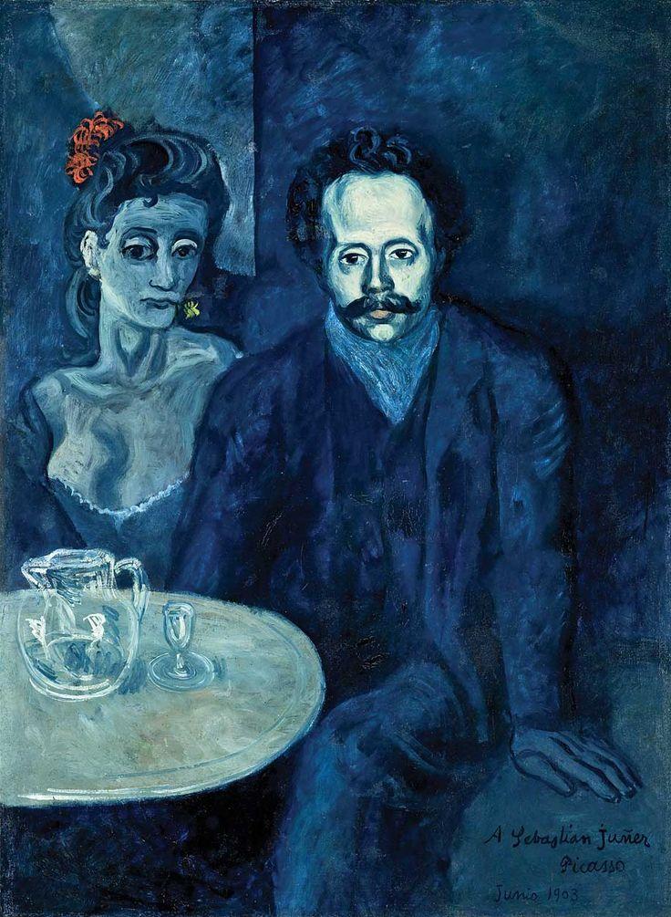 Portrait of Sebastian Juner Vidal, 1903, Pablo Picasso.