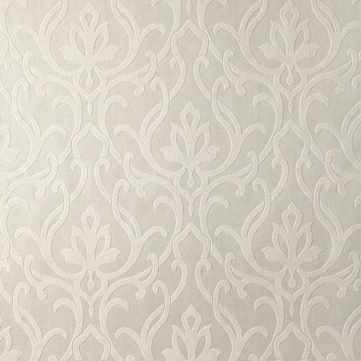 """York Wallcoverings Candice Olson Shimmering Details 27' x 27"""" Dazzled Damask Wallpaper"""
