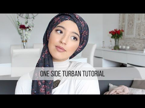 One Side Turban Tutorial - Tutoriel Turban simple et rapide | HelloCocoon…