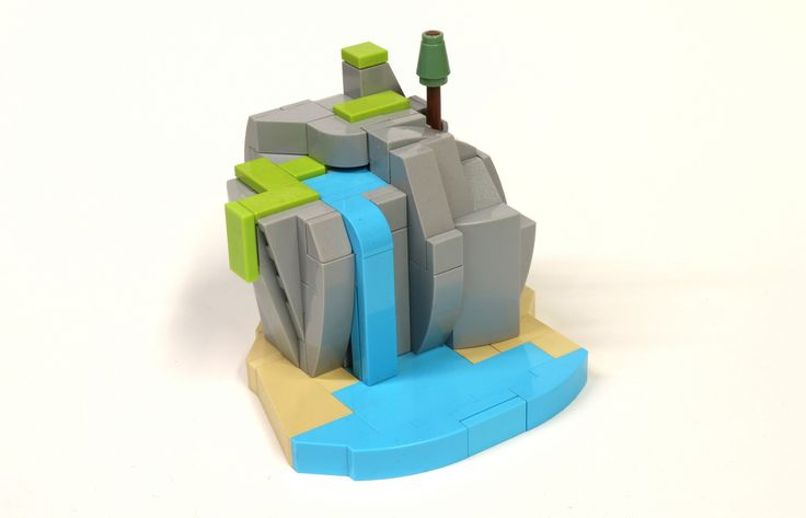 https://flic.kr/p/NWLF3o | Island of Imagination | This is a build I made for my sister for her birthday.  It is one of my favorite builds I have made.