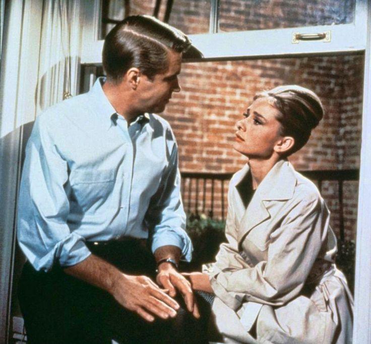 """George Peppard y Audrey Hepburn en """"Desayuno con diamantes"""", 1961"""
