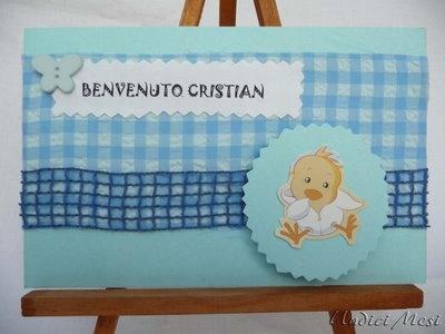 undici mesi: biglietto nascita