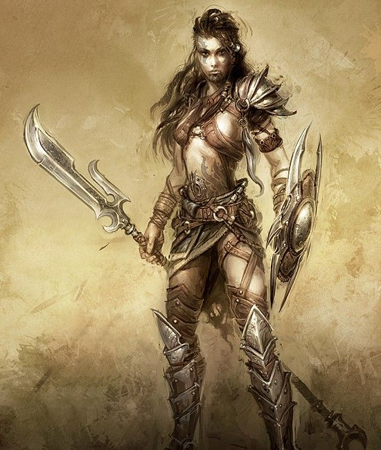 sexy and hot female warriors nude pics