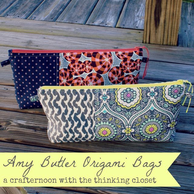 great ideas for your craft room and zipper pouches
