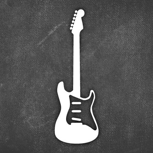 guitar (With images) Rock guitar, Guitar stickers, Guitar