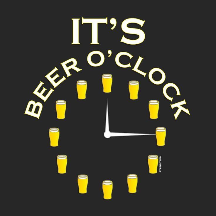 It's always beer o'clock at Deschutes Brewery!
