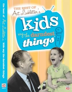 Art Linkletter Tv show 1963 - The kids say the darndest things. So cute and funny.