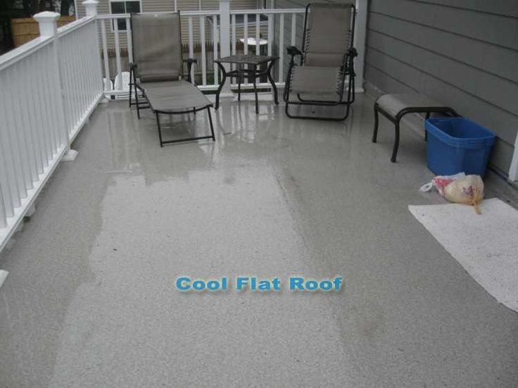 Roof Deck Ib Shield A Beautiful Water Solution For Flat Decks