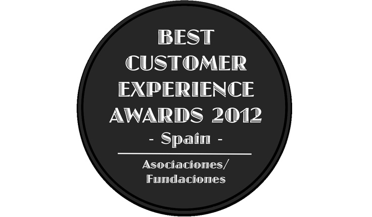 Best Customer Experience Awards, Spain 2012, Categoria Asociaciones/ Fundaciones