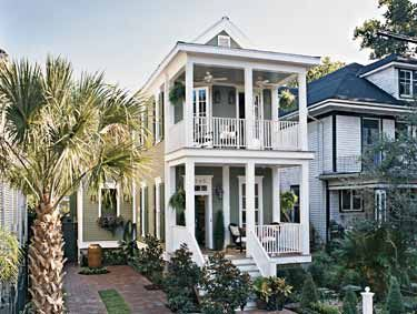 Narrow lot architecture pinterest house plans new for Louisiana cottage house plans