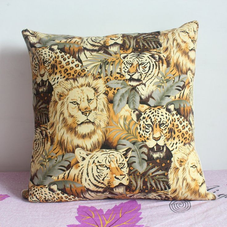 africanartonline.com - Animal Print Cushion Cover, $18.95 FREE Shipping (http://africanartonline.com/animal-print-cushion-cover/)
