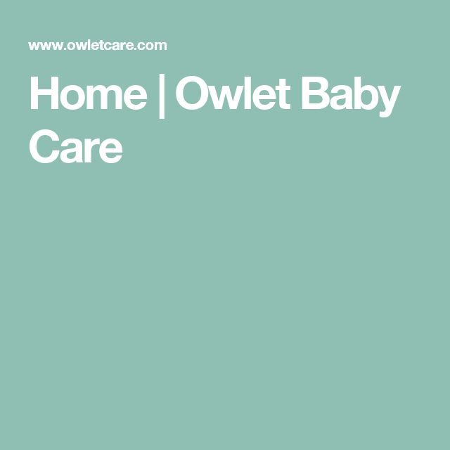 Home | Owlet Baby Care