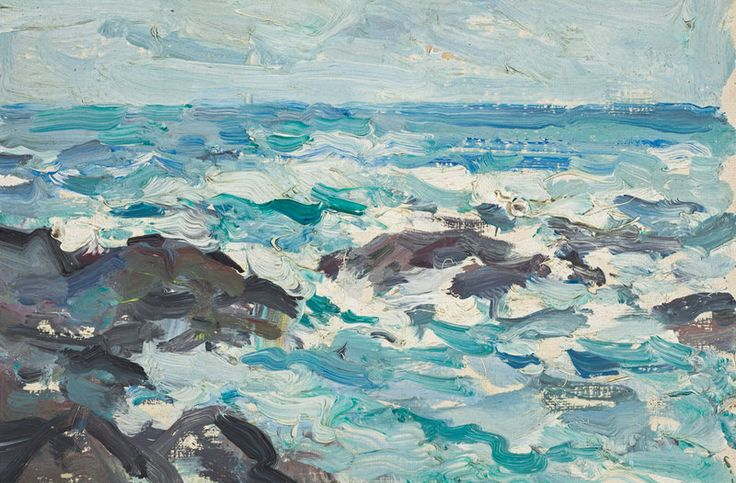 Samuel John Peploe, 'Rocks at Barra'
