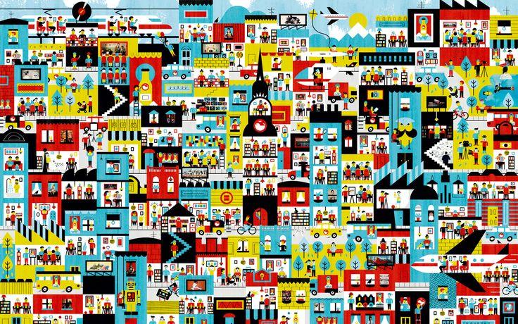 The Jacky Winter Group - great illustration agency, sydney