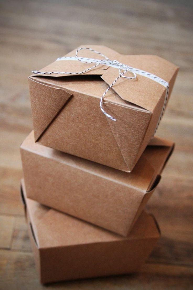 24 kraft bio pak earth recycled boxes wedding favor