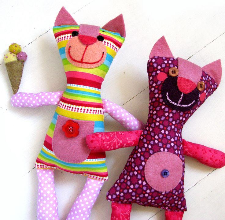 Cat soft toy / cicák  vesztlfanni.blogspot.hu