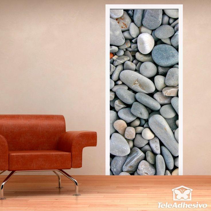 Adhesivos decorativos originales de puertas- Teleadhesivo