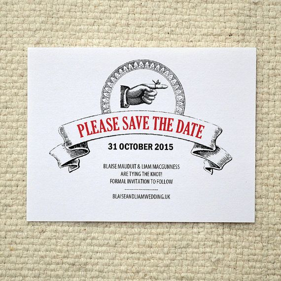 Vintage poster wedding save the date diy printable pdf for Vintage save the date templates free
