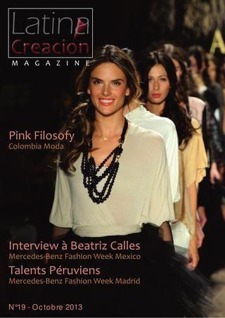 Este mes en la revista Creación Latina, los diseños de Cobre Vivo, joyería en cobre....