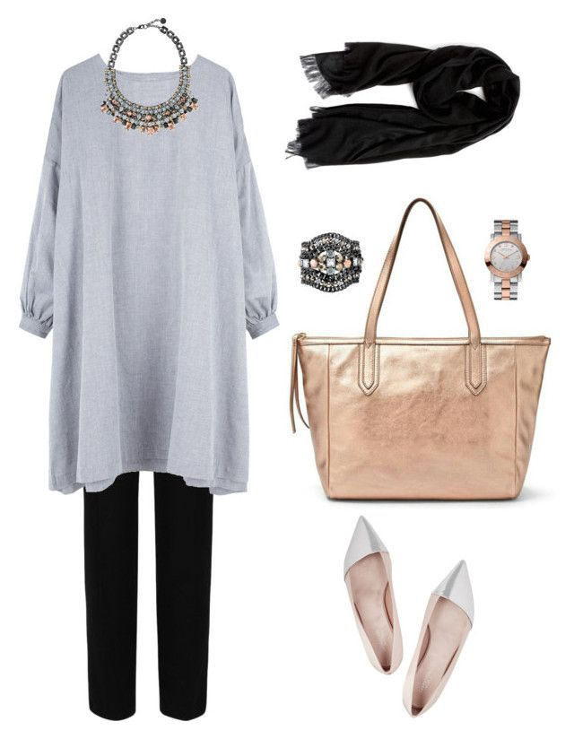 Untitled #61 by hijab-daily on Polyvore featuring polyvore moda style Henrik Vibskov M&S Collection Giambattista Valli Stella & Dot Marc by Marc Jacobs Nordstrom fashion women's clothing women's fashion women female woman misses juniors