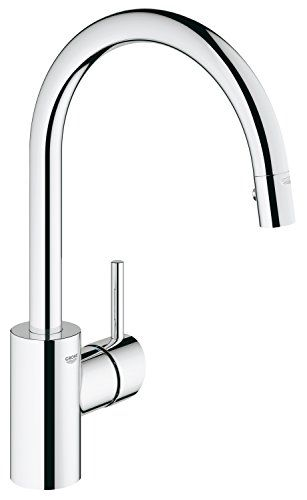 Grohe 32665001 Concetto Single Handle Pull-Down Spray Kitchen Faucet -- See this great image @ http://www.laminatepanel.com/store/grohe-32665001-concetto-single-handle-pull-down-spray-kitchen-faucet/?ef=260616092520