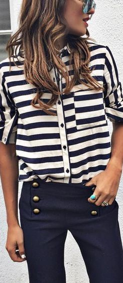 cute pants buttons - that they go on the front but near the hipbones instead of a row in the usual spot