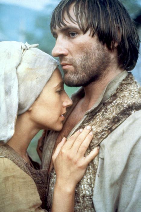 "Gérard Depardieu et Nathalie Baye in ""Le Retour de Martin Guerre"""