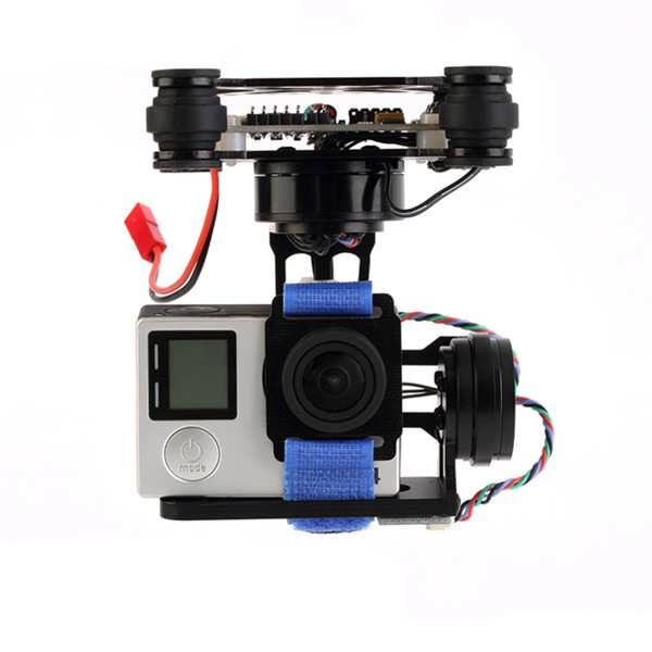 FPV 3 Axis Brushless Gimbal With Controller For DJI Phantom GoPro 3 4          Description:  Item Name: FPV 3 Axis Brushless Gimbal With Controller  Motor type: 2 x 2206 / 100T brushless motor, 1 x 2804 / 100T brushless motor  Driver board: STORM32BGC  Firmware Version:...