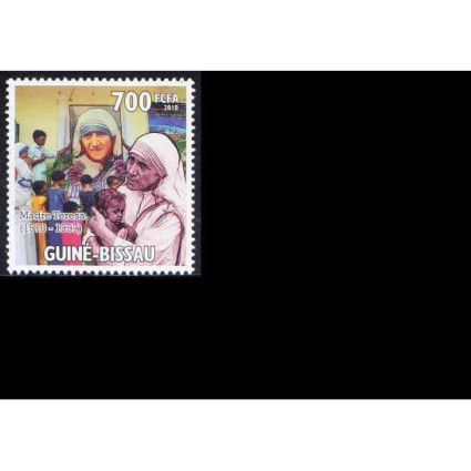 Guine Bi. MNH, Homage to Mother teresa, Nobel Peace
