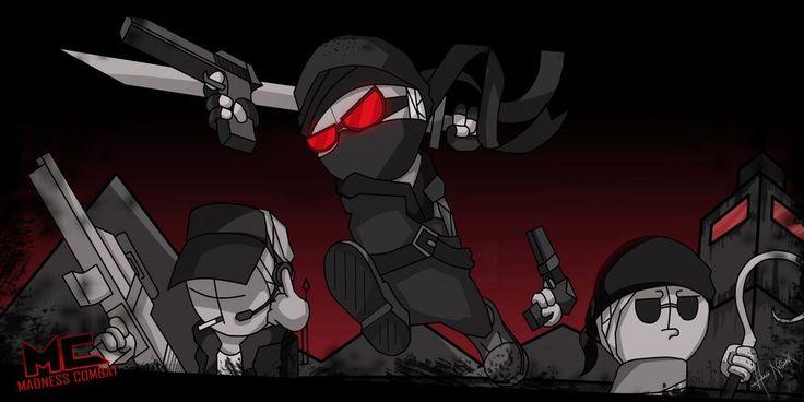 Madness Combat The Hero S Speedpaint Wallpaper By Hankn Arts On Deviantart Combat Art Combat Fan Fan Art