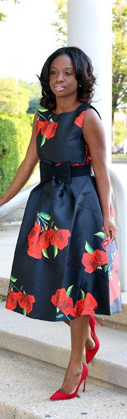 Red Bloom / Fashion By Prissy Savvy