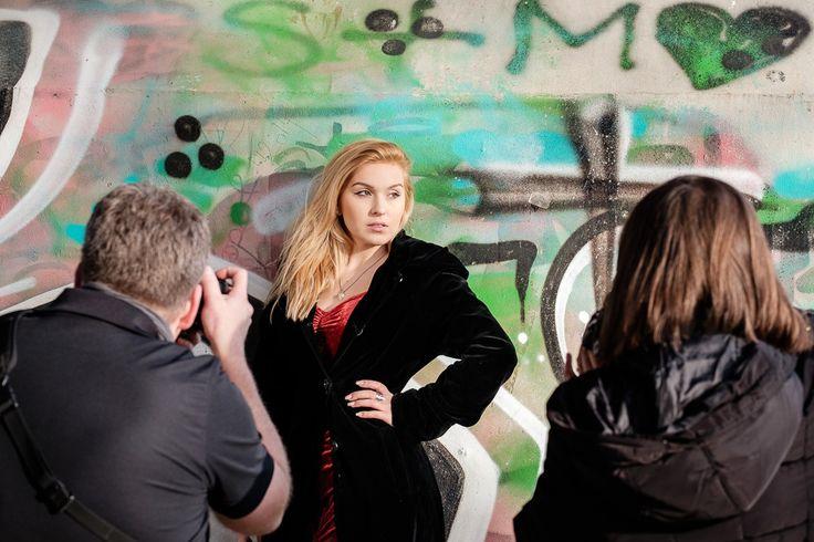Portrait Fotokurs available light in München – Blick hinter die Kulissen
