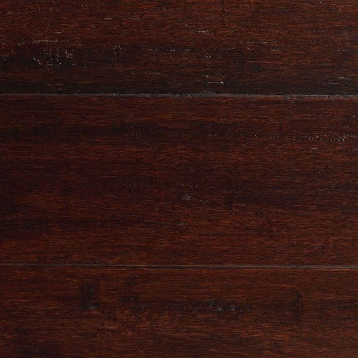Home Decorators Collection Handscraped Strand Woven Dark Mahogany 3/8 in. x 5-1/8 in. x 36 in. Click Engineered Bamboo Flooring (25.625 sq.ft/case)