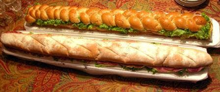 Pão à metro