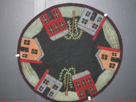 Free Wool Penny Rug Patterns The Little Pe Quilting Supplies And
