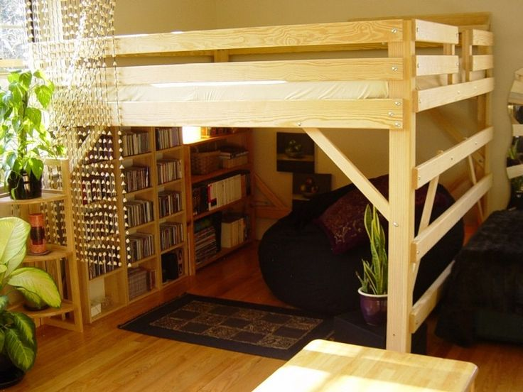 Queen Size Loft Bed For Adults - Best Home Design Ideas #oKNjbA8N3y