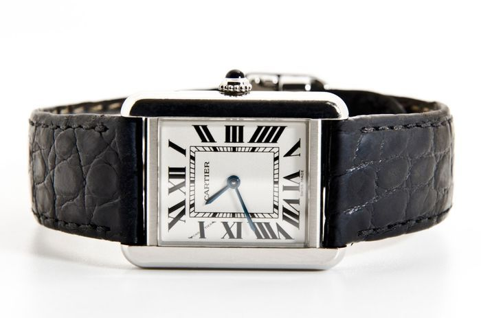 Catawiki online auction house: Cartier TANK SOLO – REF 2716